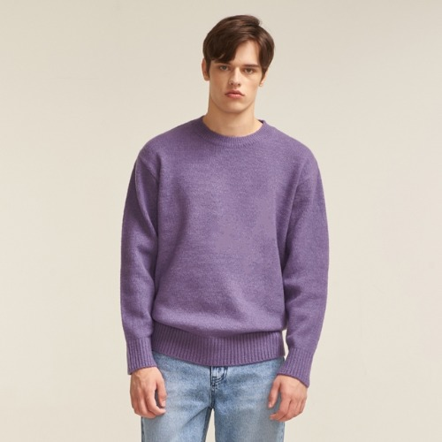 A/W KNIT - PURPLE