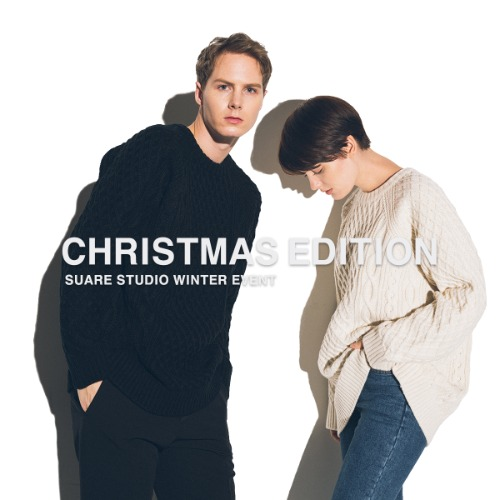 [X-MAS EDITION] FISHERMAN KNIT - 2 SET / 30% OFF